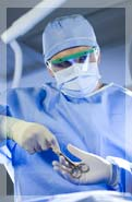 surgical technology student