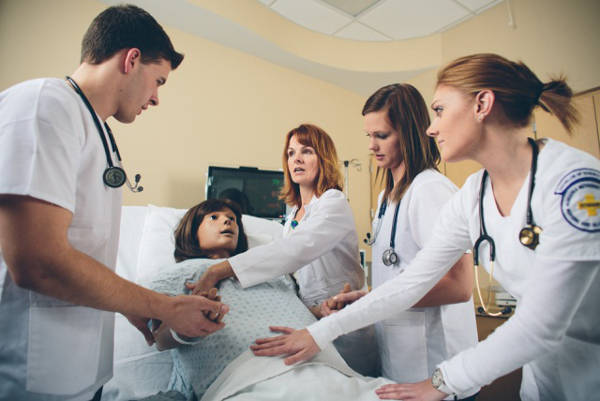 While nurses are trained at the bedside, like these NMC students, their choice of career paths is expanding.