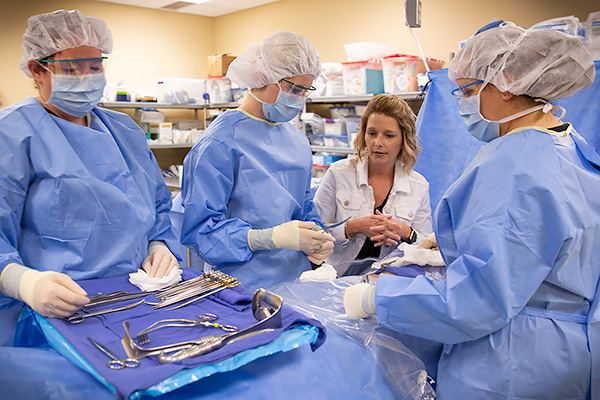 Surgical Technology class at NMC