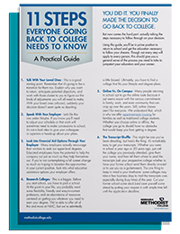 ADM Going Back to College Guide