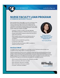 Nurse Faculty Loan Program Guide